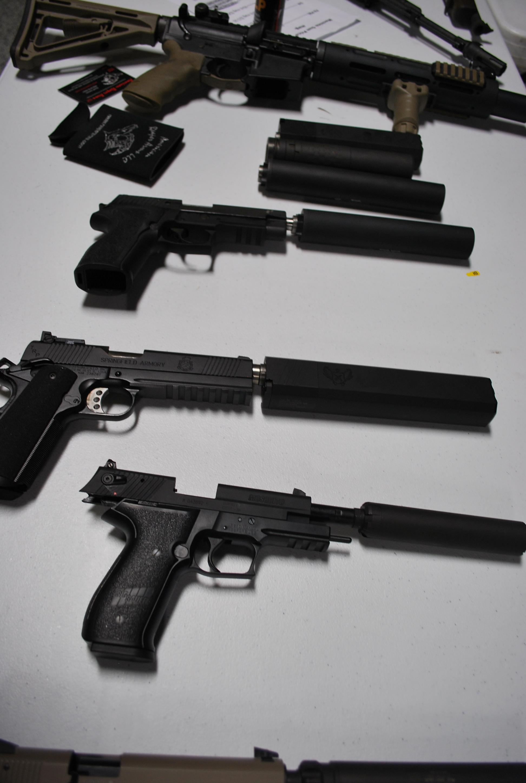 suppressor nfa gun trust maine